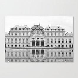 Belvedere Palace Canvas Print