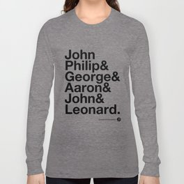 American Composers v2 Long Sleeve T-shirt