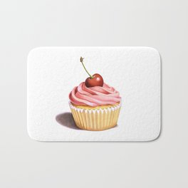 The Perfect Pink Cupcake Bath Mat