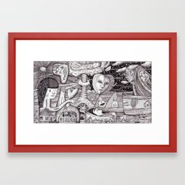 A Place Not Far From Here (Nightmare no. 1) Framed Art Print