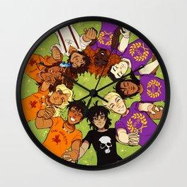 Olympus Heroes Wall Clock