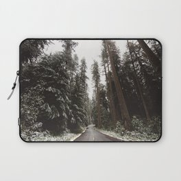Redwood Forest Adventure II - Nature Photography Laptop Sleeve