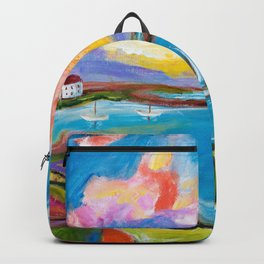 Idyllic Lakeview Backpack
