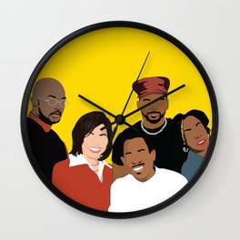 Marrtttiinnnn - Classic TV Wall Clock