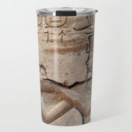 Horus and Temple of Edfu Travel Mug