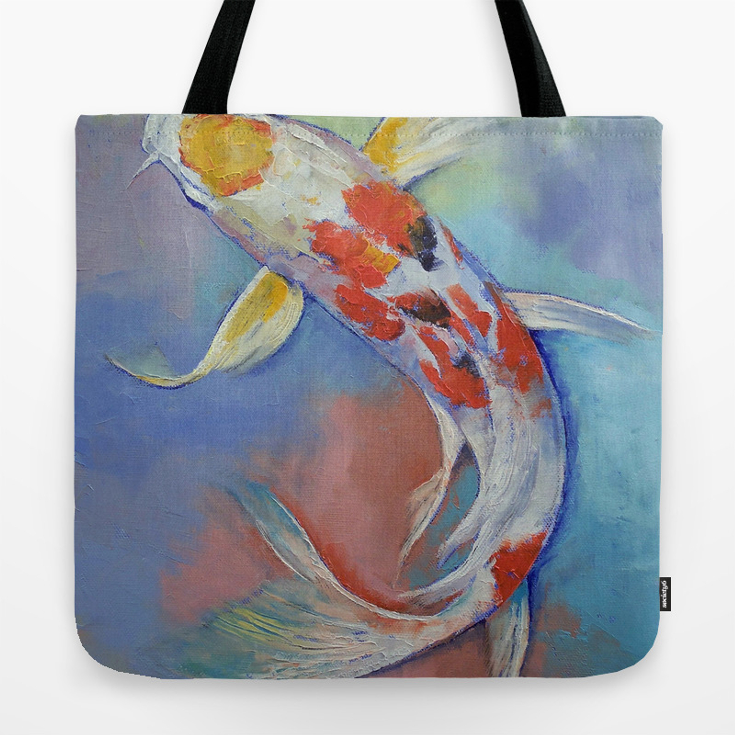 Butterfly Koi Fish Tote Bag By Michaelcreese Society6