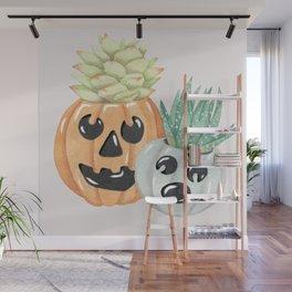 Jack O' Lanterns Wall Mural