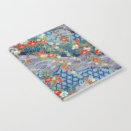Japanese River Pattern. Notebook