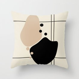 Lines and Curves # 10 - Set 1 Throw Pillow
