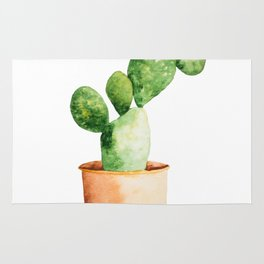 Potted Cactus Rug