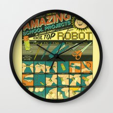 Amazing School Projects Wall Clock