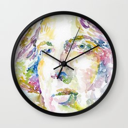 Oscar Wilde Wall Clock