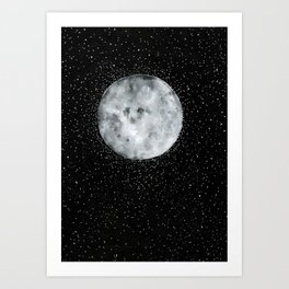 The Full Moon Art Print