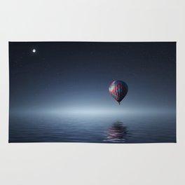 Hot Air Balloon Reflection Rug