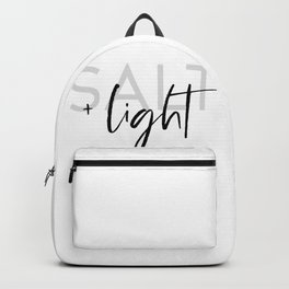 Salt + Light - Matthew 5:13-16 Backpack
