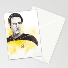 Lieutenant Commander Data Stationery Cards
