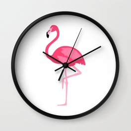 Flamingo Wall Clock