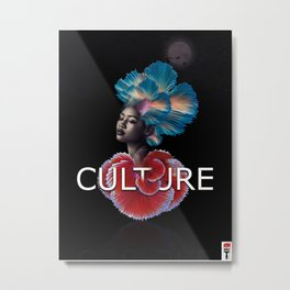 Creative Culture Metal Print