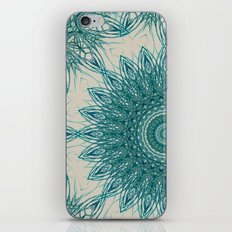 Woven Palm Mandala iPhone & iPod Skin