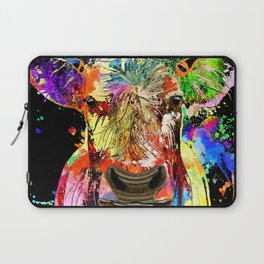Cow Grunge Laptop Sleeve