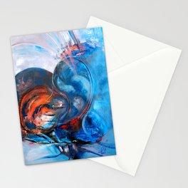 Blue Valentine Stationery Cards
