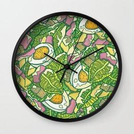 Ceasar Salad Wall Clock