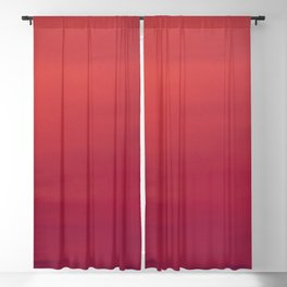 Red sky at night Blackout Curtain