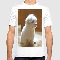 Coton de Tulear Puppy White MEDIUM Mens Fitted Tee