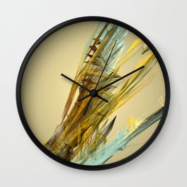 Spring Loaded Wall Clock