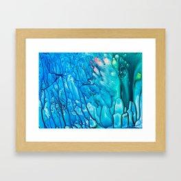 Jellyfish Framed Art Print