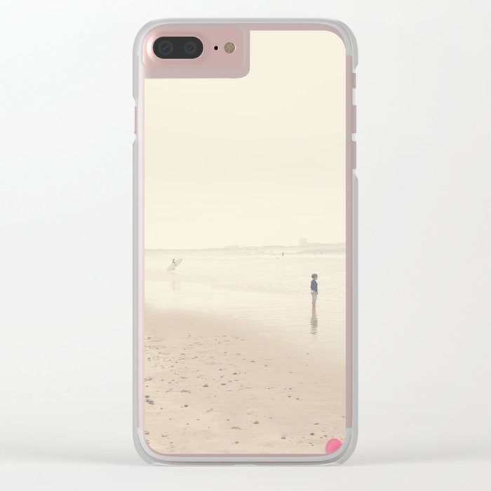 surfing life Clear iPhone Case