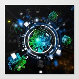 Alien Life Canvas Print