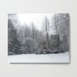 Castles in the Garden (#3) Metal Print