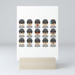 Robber Mood Mini Art Print