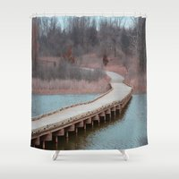 michigan Shower Curtains featuring Michigan by Ziggy Photography