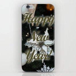 Happy New Year iPhone Skin