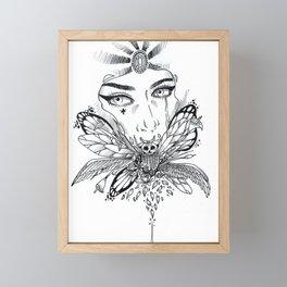 beautiful decay Framed Mini Art Print