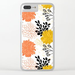 Flowers 111 Clear iPhone Case