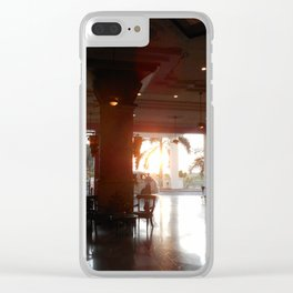 """""""The New Arrival"""" Clear iPhone Case"""