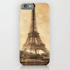 Vintage Eiffel Tower 2 Slim Case iPhone 6s