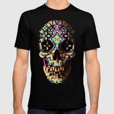 Fancy Skull MEDIUM Mens Fitted Tee Black