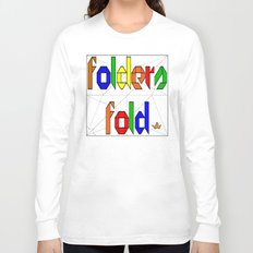 Folders Fold Long Sleeve T-shirt