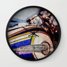 FLSTNSE CVO Softail Deluxe Wall Clock