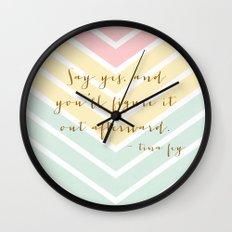 Chevron 15141 Wall Clock