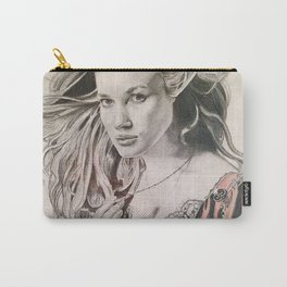 Swann - Pirates throwback portrait Carry-All Pouch