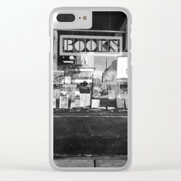 Bookstore Pacific Northwest Clear iPhone Case