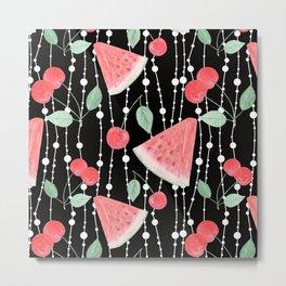 Fruit pattern.2 Metal Print