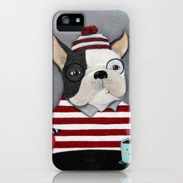Waldo the Boston Terrier iPhone Case