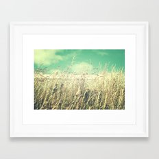 If Spring Could Talk Framed Art Print