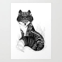 Wildlife Fox Art Print